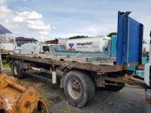 Schwarzmüller dropside flatbed trailer PA 2/E Pritsche BPW-Achsen