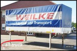Equipamientos carrocería caja con lona Krone 20 x WB 7,45 BDF Wechselbrücke, Bordwand,