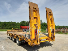 Kaiser heavy equipment transport trailer Essieux centraux