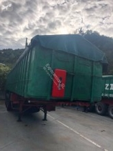 Leciñena trailer used tipper