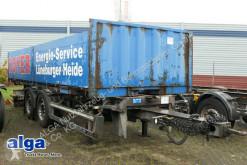 Aanhanger platte bak boorden Schmitz Cargobull ZWF 18/L-20 Midi, Tandem, 7.400mm lang