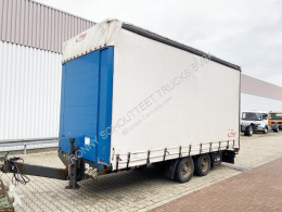 Aanhanger Schuifzeilen Fliegl TPS 118 TPS 118 Glastransporter, Edscha-Verdeck