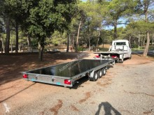 remorque Woodford trailers plateau 5m50 x 2m40
