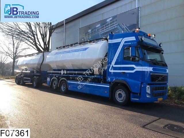 Voir les photos Camion remorque Feldbinder Silo  Feldbinder, 63000 Liter , 11 Compartments, Standairco, Airco, Combi,