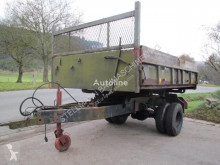 MERCEDES-BENZ trailer used tipper