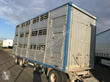 Remorca Pezzaioli Pezzaiolli 3 Stock ausfahrbares Dach transport animale second-hand