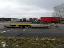 MERSCH Autotransportanh. 10 m trailer used car carrier