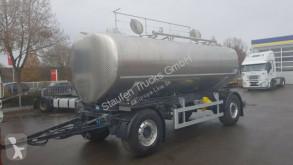 Tanker trailer JANSKY für BLUT PLASMA Transp. isoliert !Pumpe
