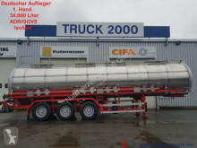 Nc GoFa*Chemie*34.000L.*V2A*ADR/ GGVS*Isoliert semi-trailer used chemical tanker