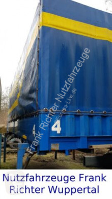 Equipamientos carrocería caja con lona Wechselbrücken Pl.Spr. 7,4 mtr. Guter Zustand