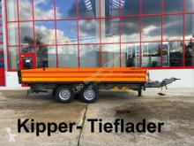 Möslein 13 t Tandemkipper- Tieflader-- Wenig Benutzt -- trailer