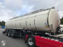 semi reboque Berger Lebensmitteltank1-Kammer 31.000l/Pumpe / Heizung