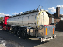 semi reboque Berger Lebensmitteltank1-Kammer 31.000l/Pumpe /Heizung