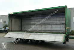 Ackermann beverage delivery flatbed trailer