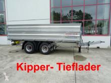 przyczepa Möslein 19 t Tandemkipper- Tieflader-- Neuwertig --