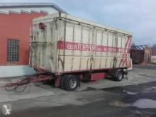 Bunge Freudenau 48 m³ Seitenkipper luftgefedert trailer used tipper