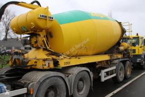 Liebherr BETON MIXER HTM 1204 - 12M³ trailer used concrete mixer