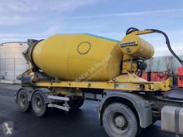 Liebherr BETON MIXER HTM 1004 ZA - 10 M³ trailer used concrete mixer