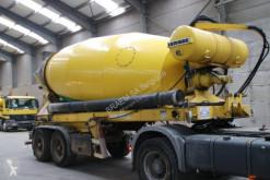 Félpótkocsi Liebherr MIXER HTM 1204 - 12M³ használt betonkeverő beton