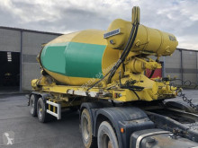 Liebherr MIXER 1204 ZA-12 M³ semi-trailer used concrete mixer concrete