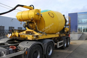 Liebherr MIXER HTM 1004 ZA - 10M³ semi-trailer used concrete mixer concrete