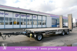 Schwarzmüller G serie / TIELADER / GERADE / 8000 mm / RAMPEN trailer used heavy equipment transport