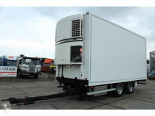 Van Eck mono temperature refrigerated trailer 2 assige middenas aanhangwagen KOEL / VRIES