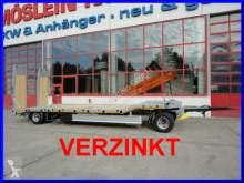 Möslein 2 Achs Tieflader- Anhänger, FeuerverzinktNeufah trailer