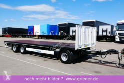 Krone heavy equipment transport trailer