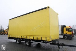 Remorca Incaman TRUCK TRAILER CURTAIN 9 T obloane laterale suple culisante (plsc) second-hand