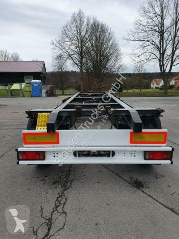 Voir les photos Remorque Schmitz Cargobull AFW 18 LAFETTE verzinkt neuwertig TÜV NEU!