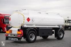 přívěs cisterna uhlovodíková paliva Stokota