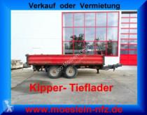 nc Tandemkipper- Tieflader trailer