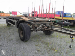 Abrollanhänger trailer used hook lift