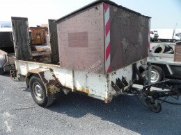 Blomenröhr heavy equipment transport trailer Tandemtieflader - Tiefladeranhänger