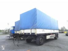 Krone tarp trailer Pritschenanhänger AZP 18 Planenanhänger
