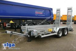 Humbaur heavy equipment transport trailer