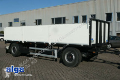 Fellechner, 7.300mm lang, SAF, Scheibe, Baustoff trailer used dropside flatbed