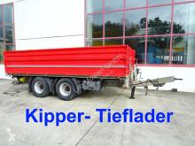 remorque nc 18 t Tandemkipper- Tieflader-- Wenig Benutzt --