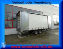 Möslein Tandem- Schiebeplanenanhänger zum Durchladen trailer