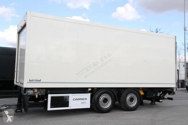 Voir les photos Remorque Rohr Passing trailer refrigerator / Carrier Supra 850u 18 Epal