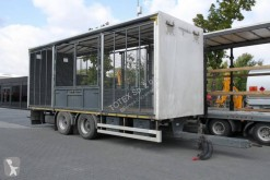 Reboque Konar TRAILER FOR THE TRANSPORT OF ANIMALS / BIRDS / HEN / PIGEONS / ETC / 18 T JG transporte de gados usado