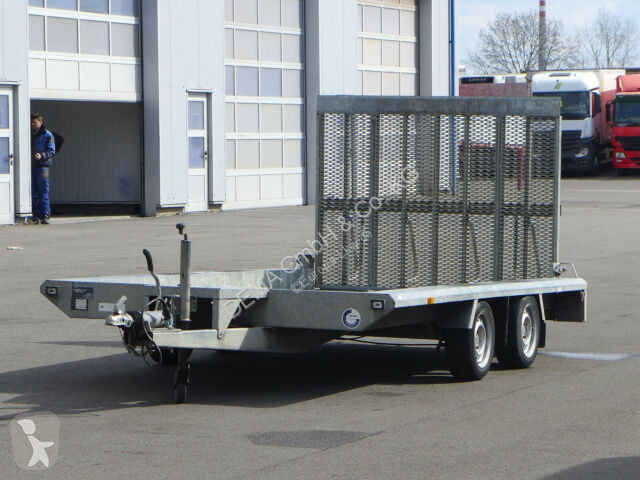 Voir les photos Remorque Hapert TA*PKW - Baumaschinen Anhänger*Rampen*TÜV*BPW*
