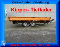 przyczepa Müller-Mitteltal Tandemkipper- Tieflader