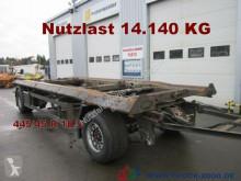 Remolque portacontenedores Schmitz Cargobull ACF 18 Scheibenbremsen Breitreifen 445/45 1.Hand