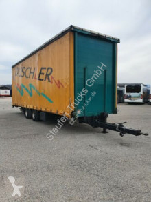 MS-PARTS Tandem Jumbo/Mega Anh Stapler 9,3m LANG trailer used tarp