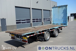 GS Meppel flatbed trailer AN2000 | SLOW TRAFFIC * OPEN TRAILER * 20ft CONNECTION