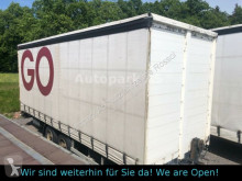 Möslein TP 11 Schwebheim Pritsche + Plane Tandem trailer used tarp