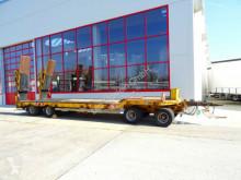 remorque Müller-Mitteltal 4 Achs Tieflader- Anhänger mit ABS