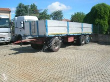Viberti 25R11 7.5 trailer used dropside flatbed